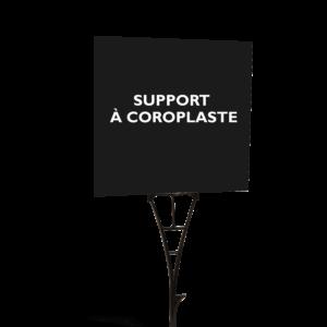 Support à coroplaste